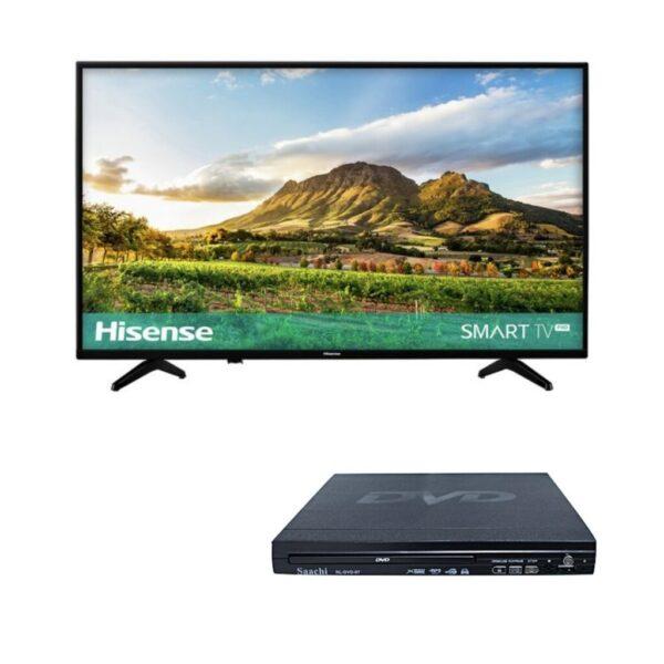 Los televisores inteligentes funcionan con reproductores de DVD