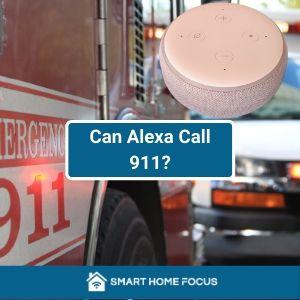 Puede Alexa llamar al 911 en caso de emergencia