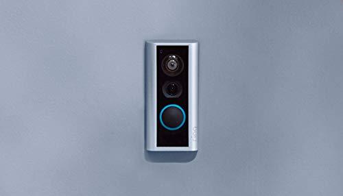Ring Peephole Cam: timbre con video inteligente, video HD, conversación bidireccional, fácil instalación