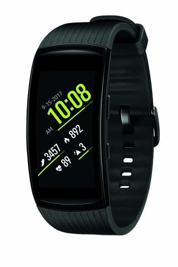 Banda de fitness inteligente Samsung Gear Fit2 Pro