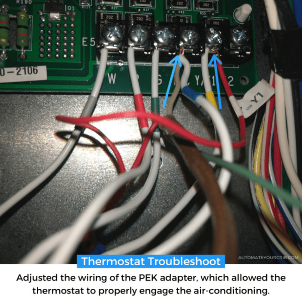 ¿Puedo instalar un termostato inteligente sin un cable C?