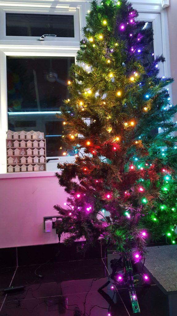 Árbol de Navidad inteligente