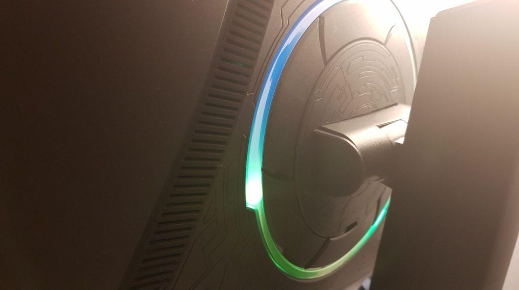 Monitor de juegos RGB