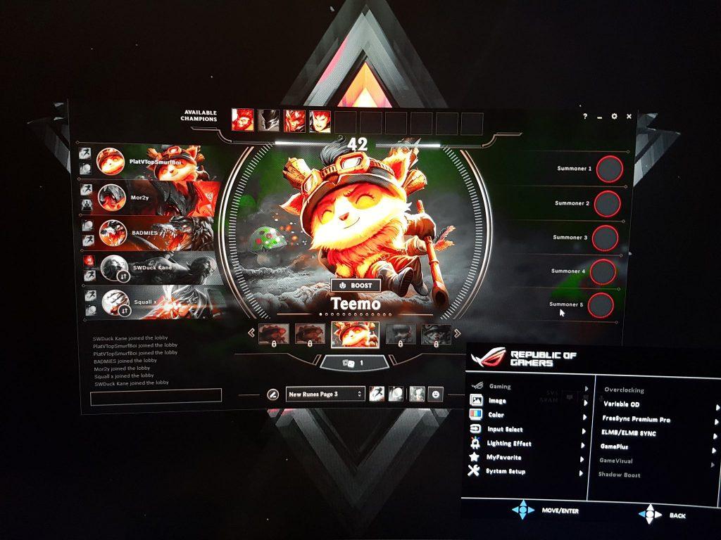 MOBA visual de juegos en League of Legends