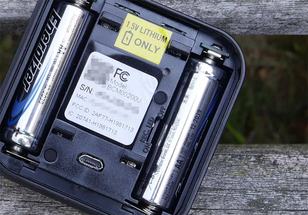 Reinicio de la batería Blink XT2