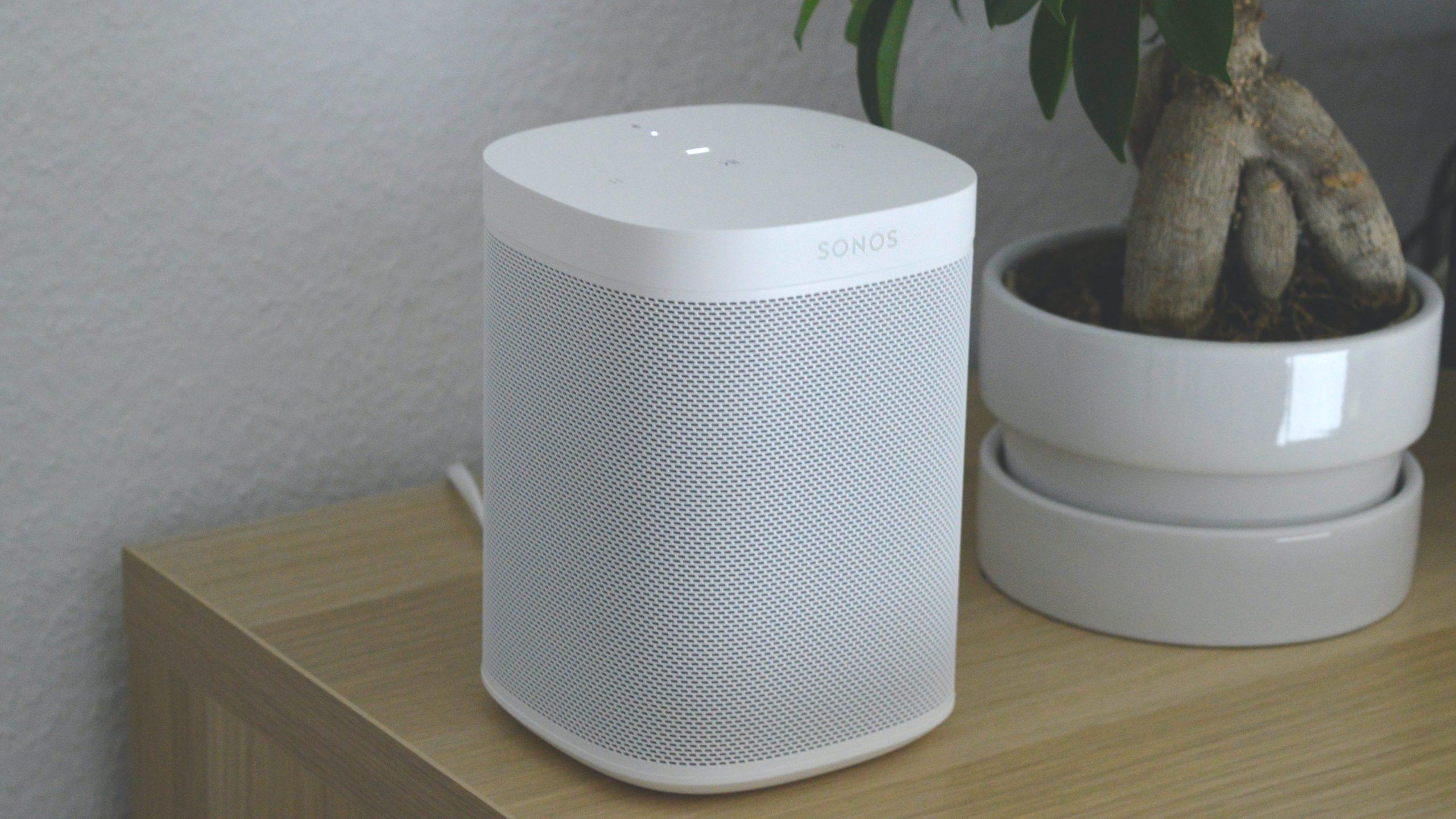 Cómo restablecer un altavoz Sonos