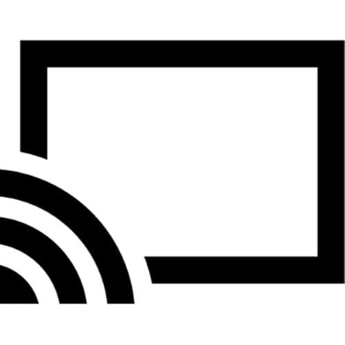 Icono de Chromecast
