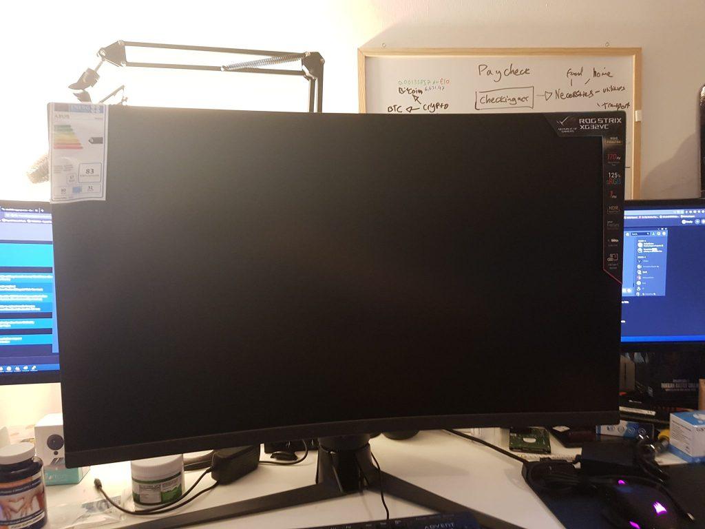 Monitor para juegos Asus Rog Strix XG32VC