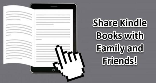 Comparta libros Kindle con familiares y amigos
