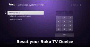 Cómo restablecer de fábrica su dispositivo de TV Roku