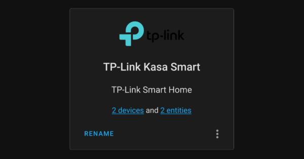Integracion del Asistente para el hogar TP Link Aficion del