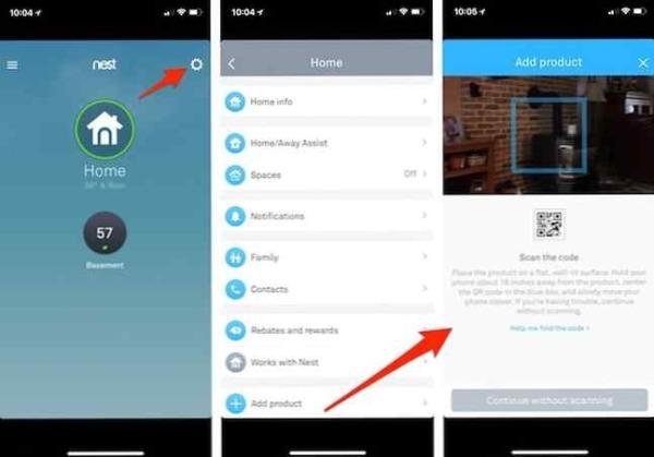 Cómo mantener actualizados tus productos Nest y la aplicación Nest