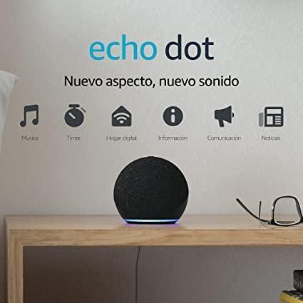 Novedades Echo Dot 4.ª generación: El altavoz inteligente con Alexa
