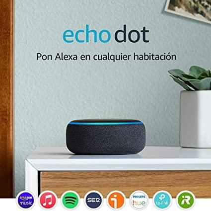 Novedades de Echo Dot de 3ª generación: Altavoz inteligente con Alexa